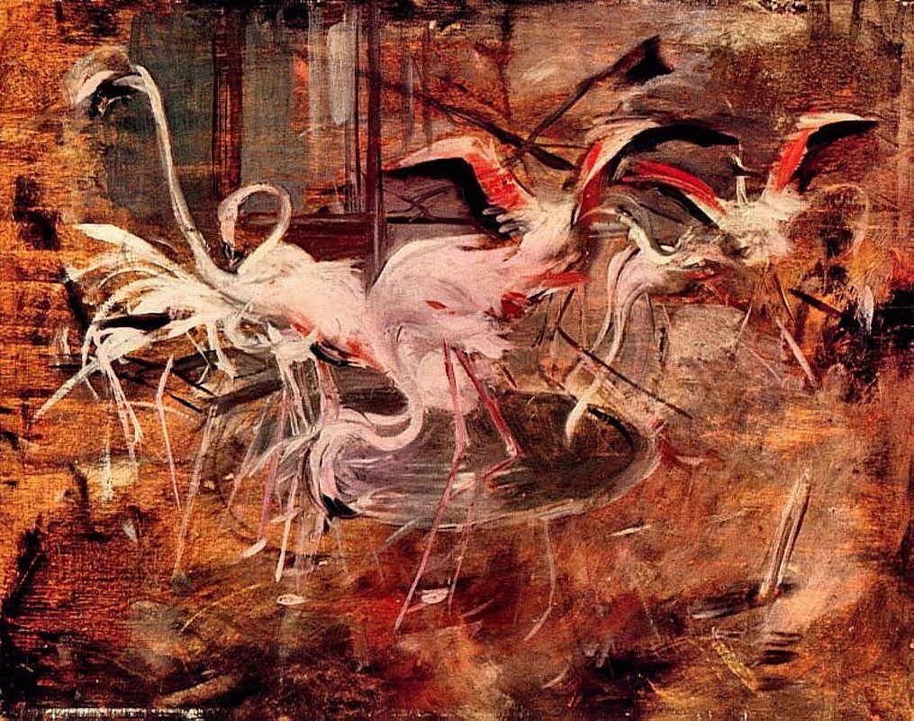 Pink Palace Ibis in the Vesinet - Giovanni Boldini