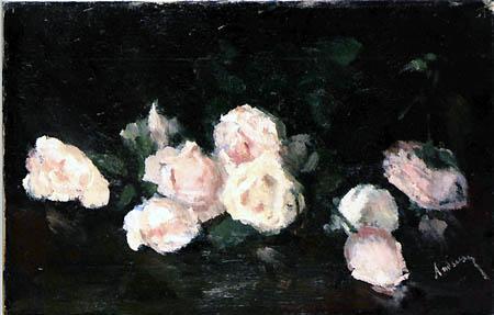 Pink Roses - Ernst Ludwig Kirchner
