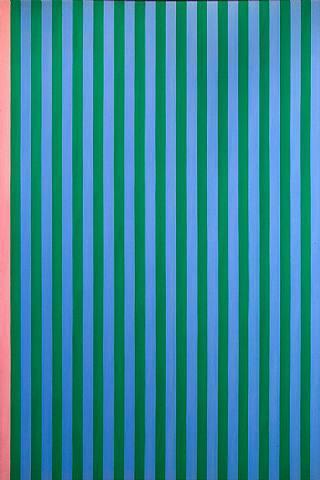 Pink Stripe - Gene Davis