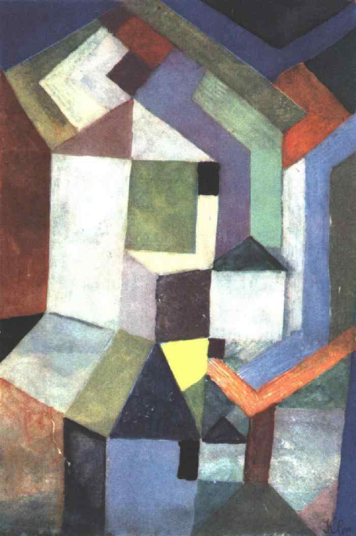 Pious northern landscape - Paul Klee