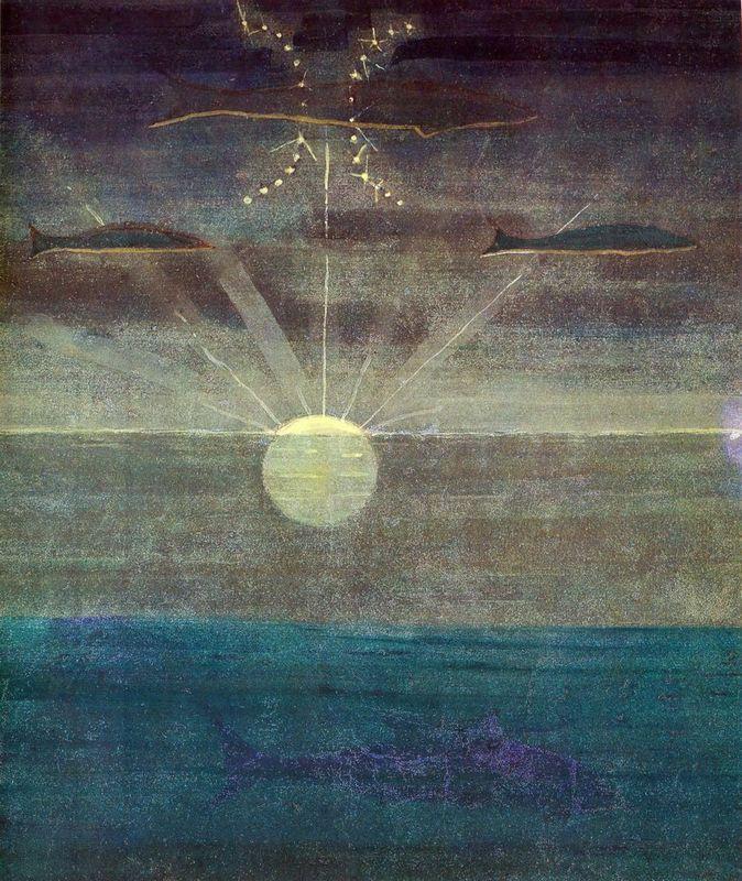 Pisces - Mikalojus Ciurlionis