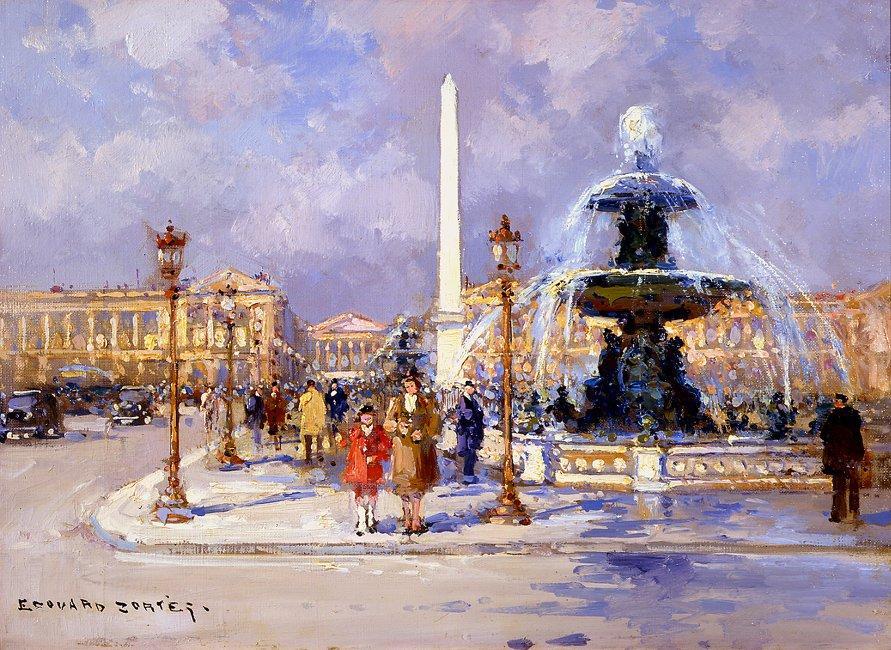 Place de la Concorde - Antoine Blanchard