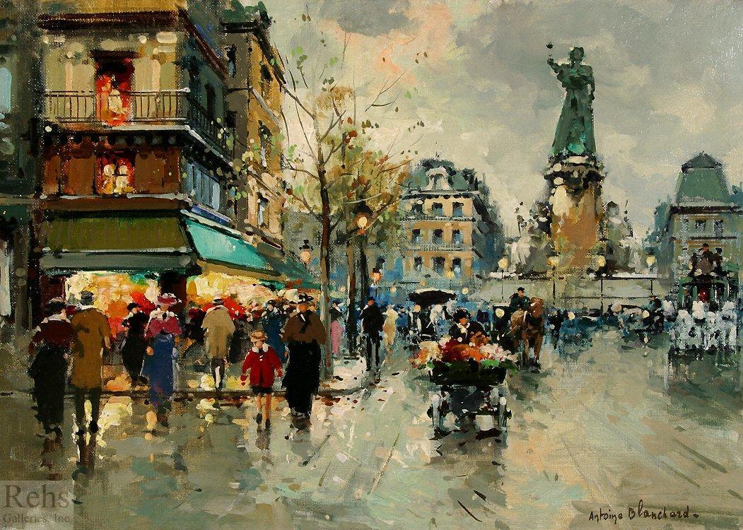 Place de la Republic - Antoine Blanchard