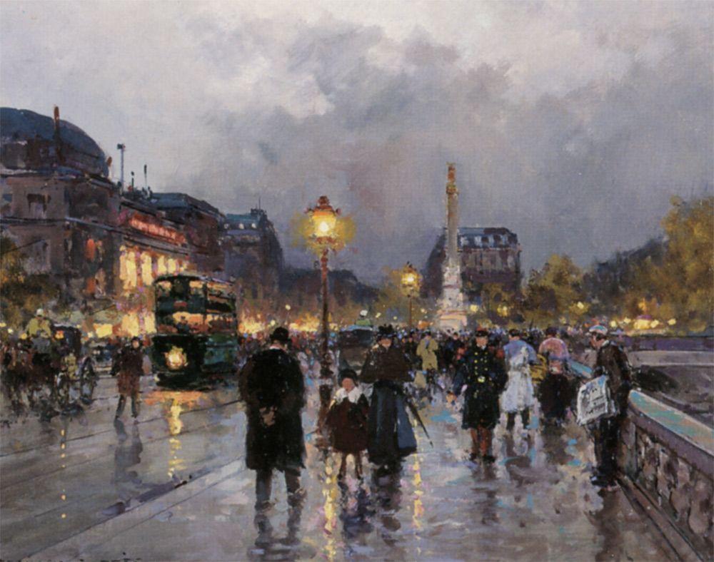 Place du Chatelet - Edouard Cortes