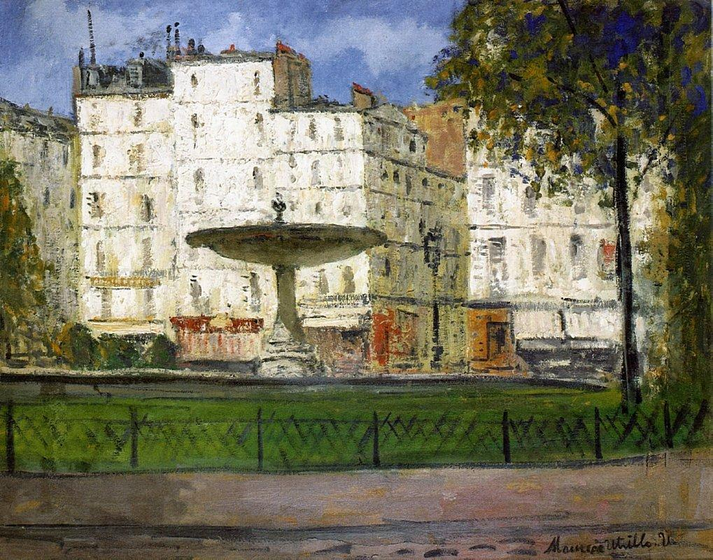Place Pigalle - Maurice Utrillo