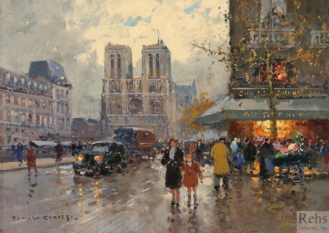 Place Saint Michel, Notre Dame - Antoine Blanchard
