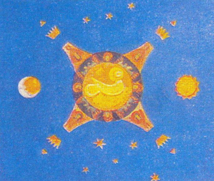 Plafond - Nicholas Roerich