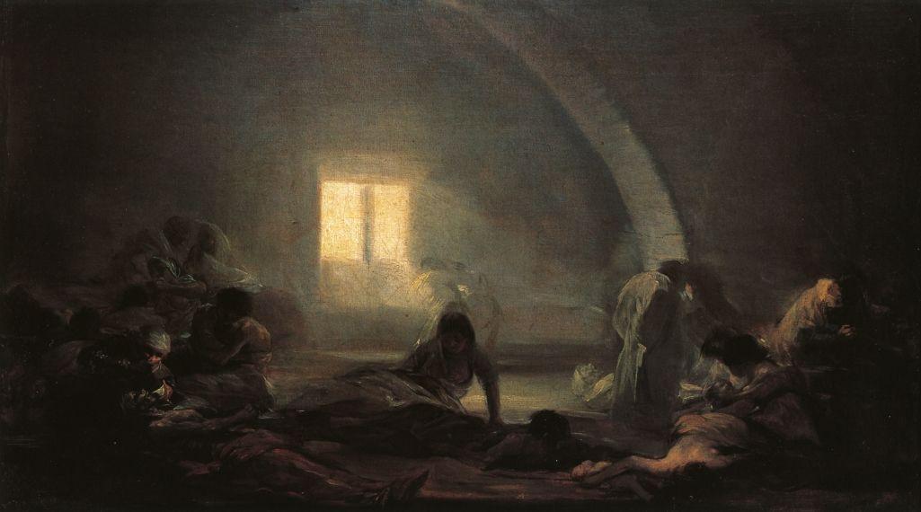 Plague Hospital - Francisco Goya