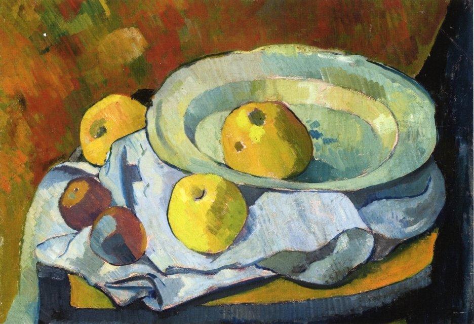 Plate of Apples - Paul Serusier
