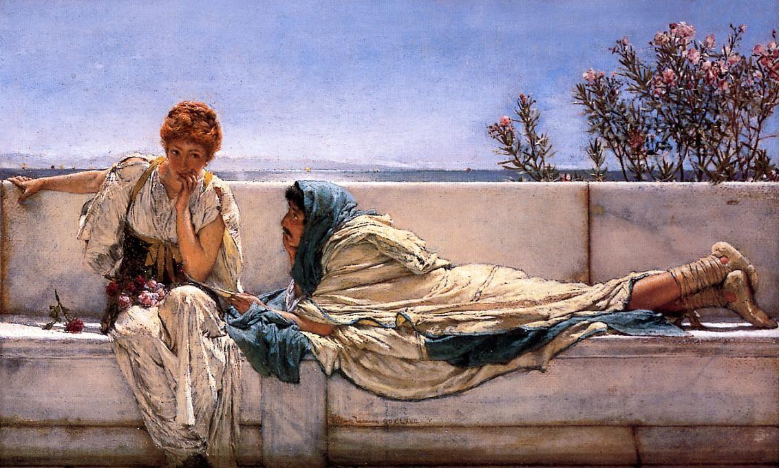 Pleading - Sir Lawrence Alma-Tadema