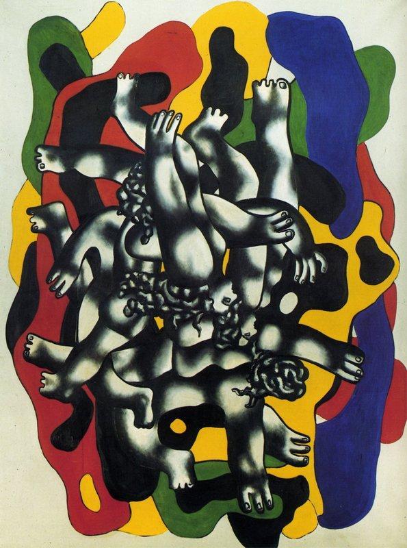 Plungers II - Fernand Leger