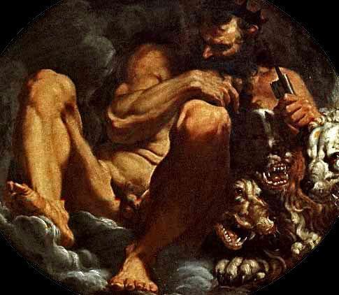 Pluto  - Agostino Carracci