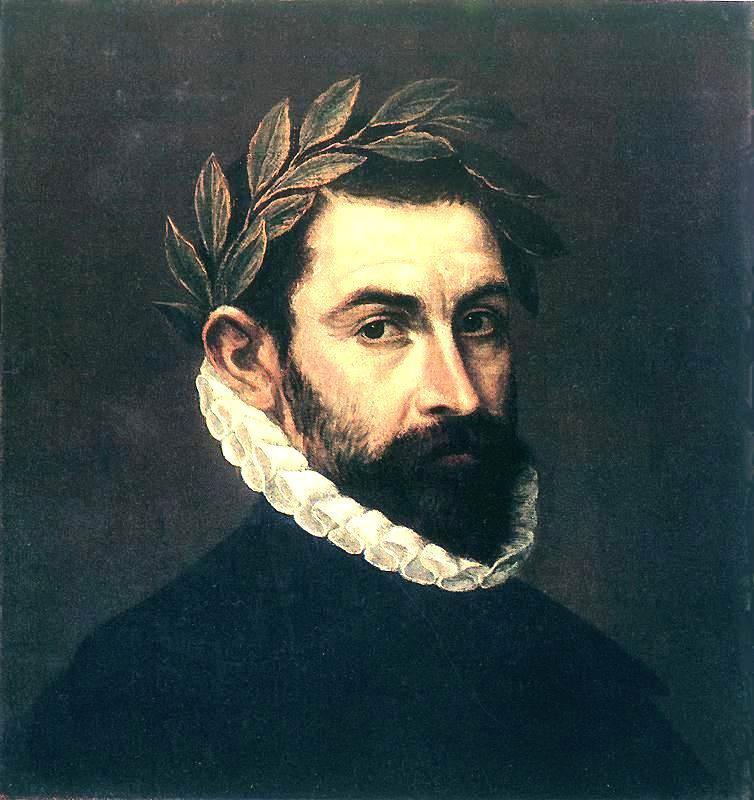 Poet Ercilla y Zuniga by El Greco - El Greco