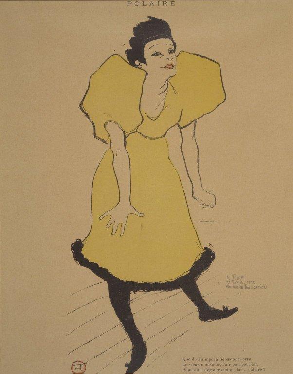 Polaire - Henri de Toulouse-Lautrec