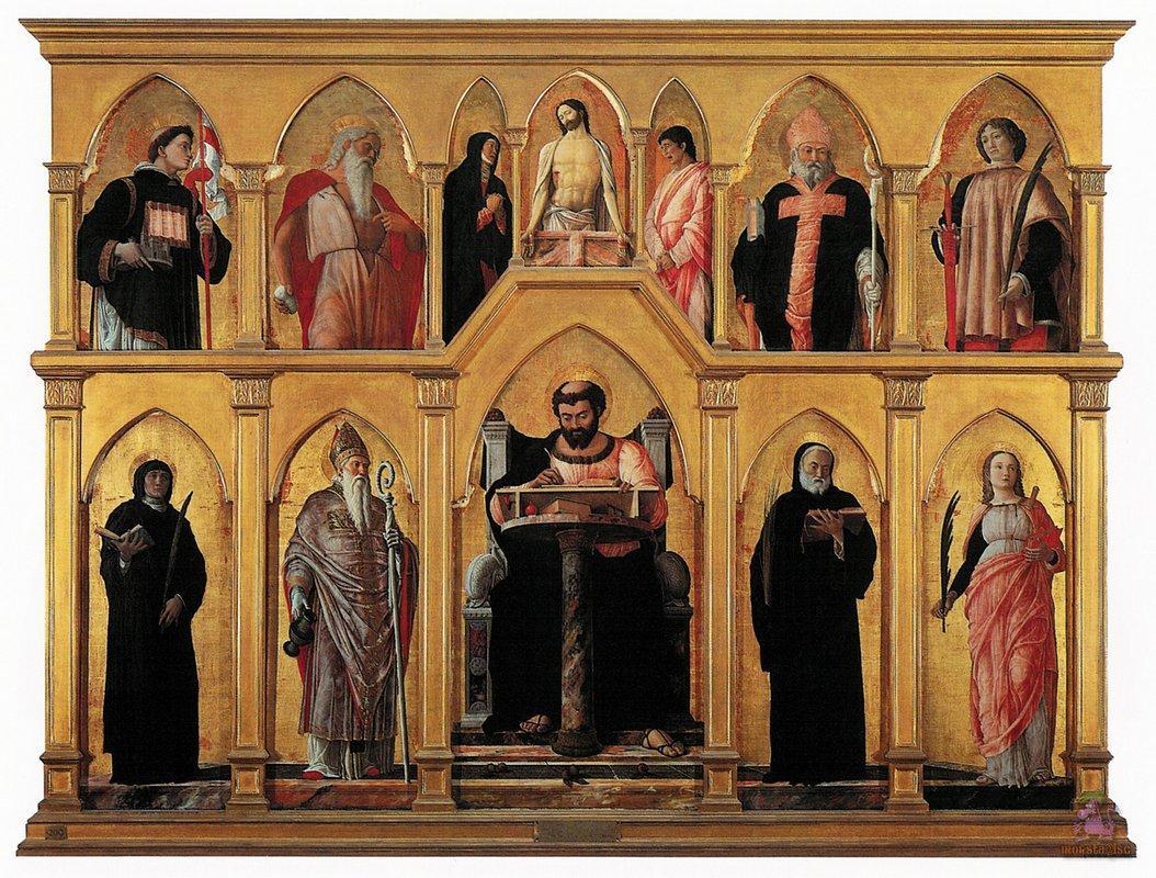 Polyptych of St. Luke - Andrea Mantegna