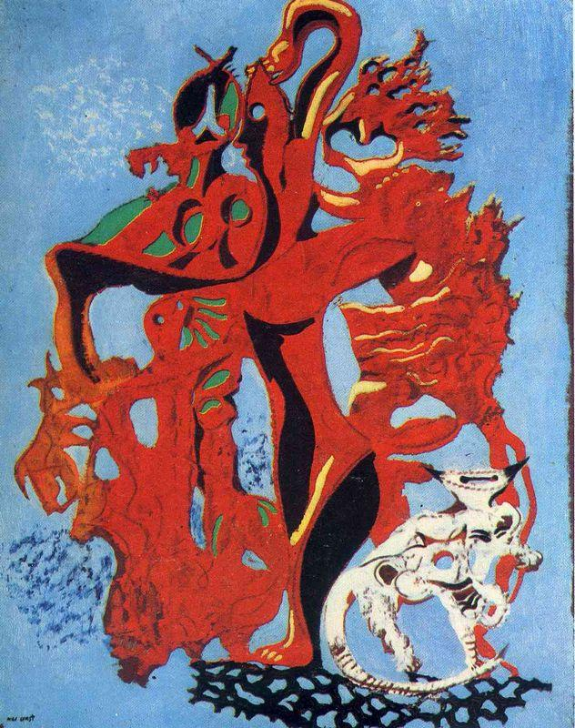 Pomegranate Flower  - Max Ernst