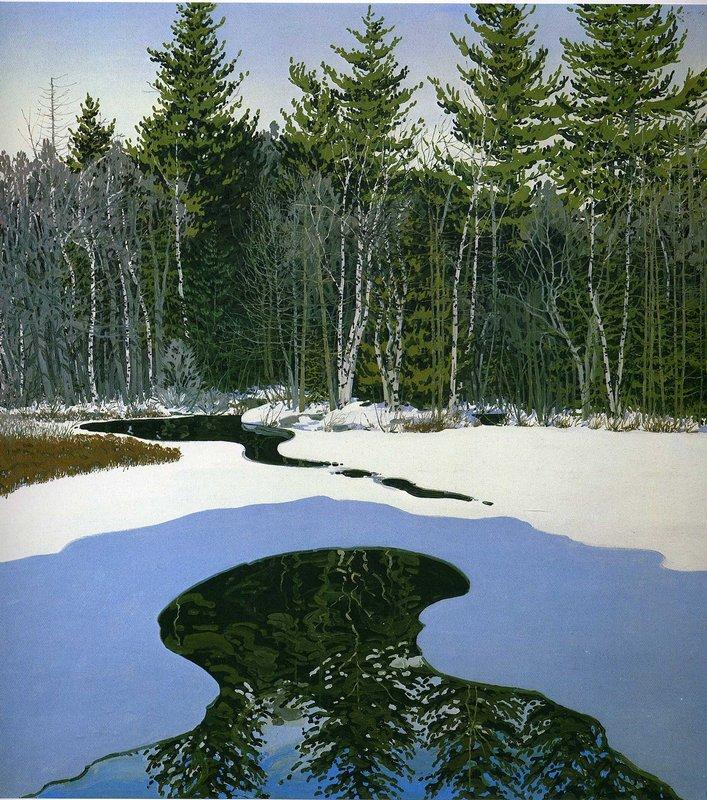 Pond Pass - Neil Welliver
