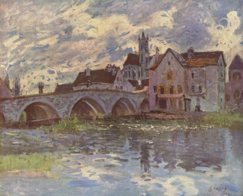 Pont de Moret sur Loing - Alfred Sisley