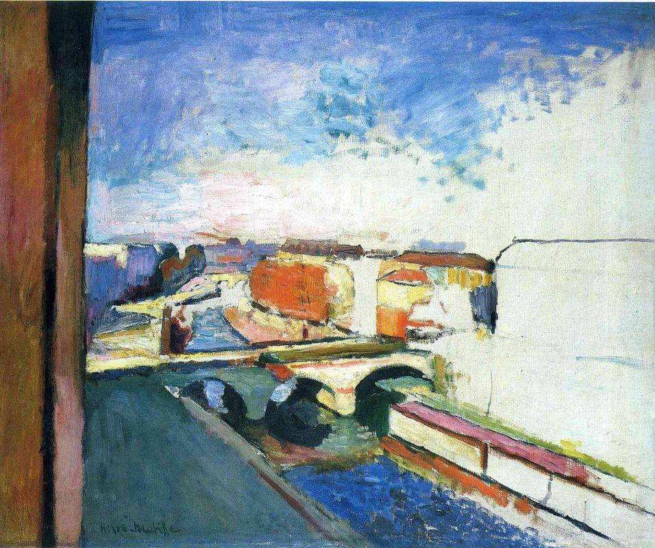 Pont Saint Michel in Paris - Henri Matisse