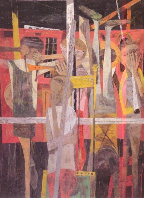 Porch II - Philip Guston