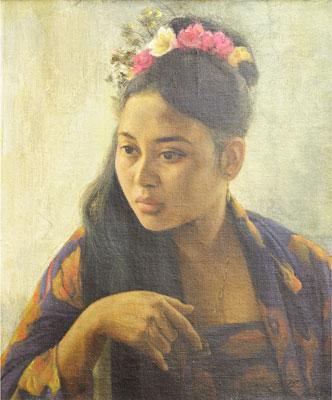 Portrait - Basuki Abdullah