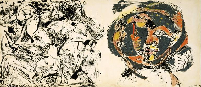 Portrait and a Dream - Jackson Pollock