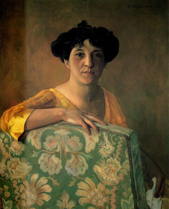 Portrait de Gabrielle Vallotton - Felix Vallotton