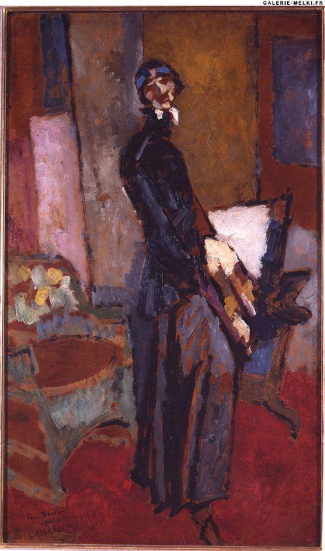 Portrait de Miss Bessie Baver - Albert Gleizes