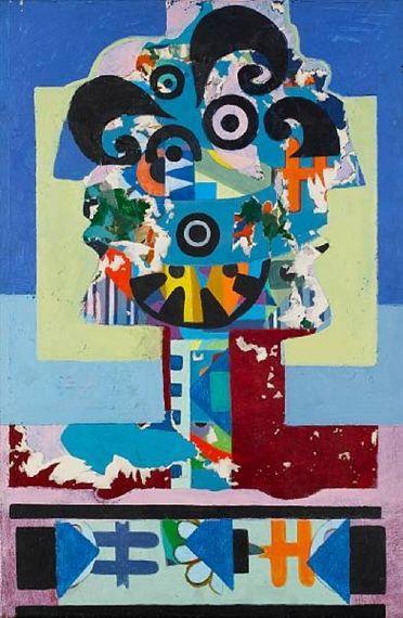 Portrait (Head) - Arshile Gorky