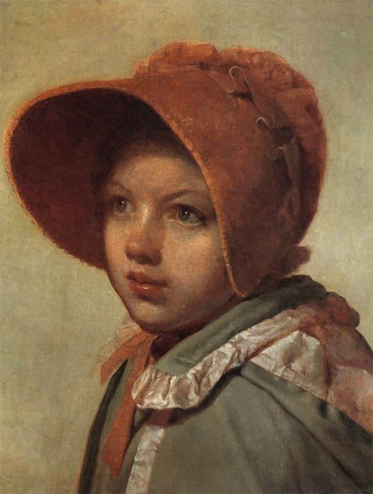 Portrait of A. A. Venetsianova - Alexey Venetsianov