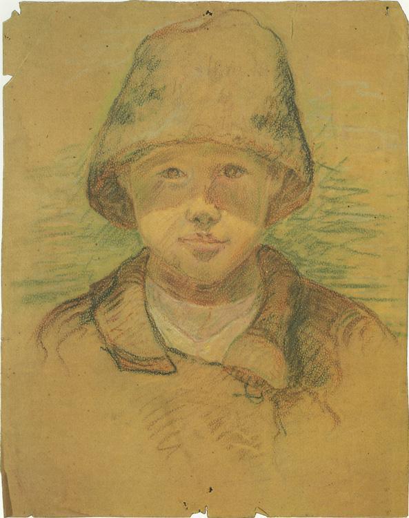 Portrait of a Boy - Aleksandr Deyneka