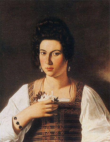 Portrait of a Courtesan - Caravaggio
