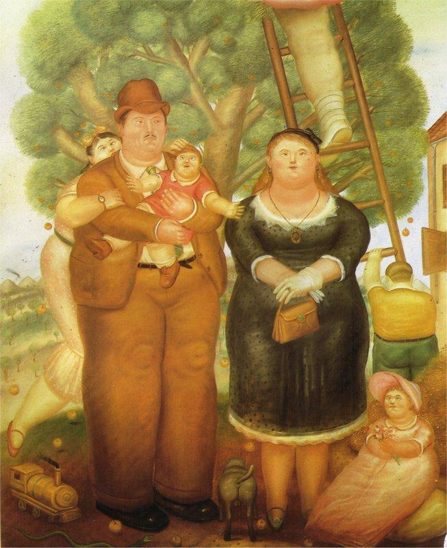 Portrait of a Family - Fernando Botero