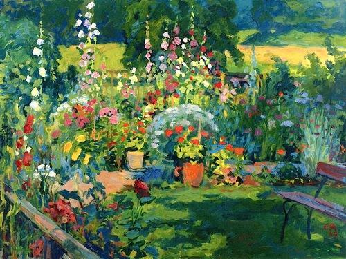 Portrait of a Garden - Cuno Amiet