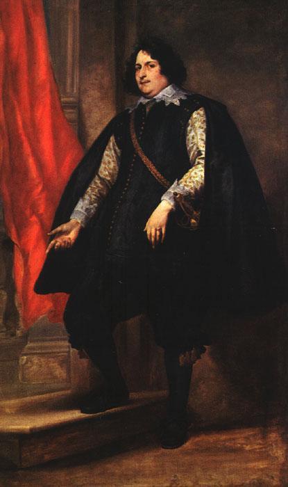 Portrait of a Gentleman - Anthony van Dyck