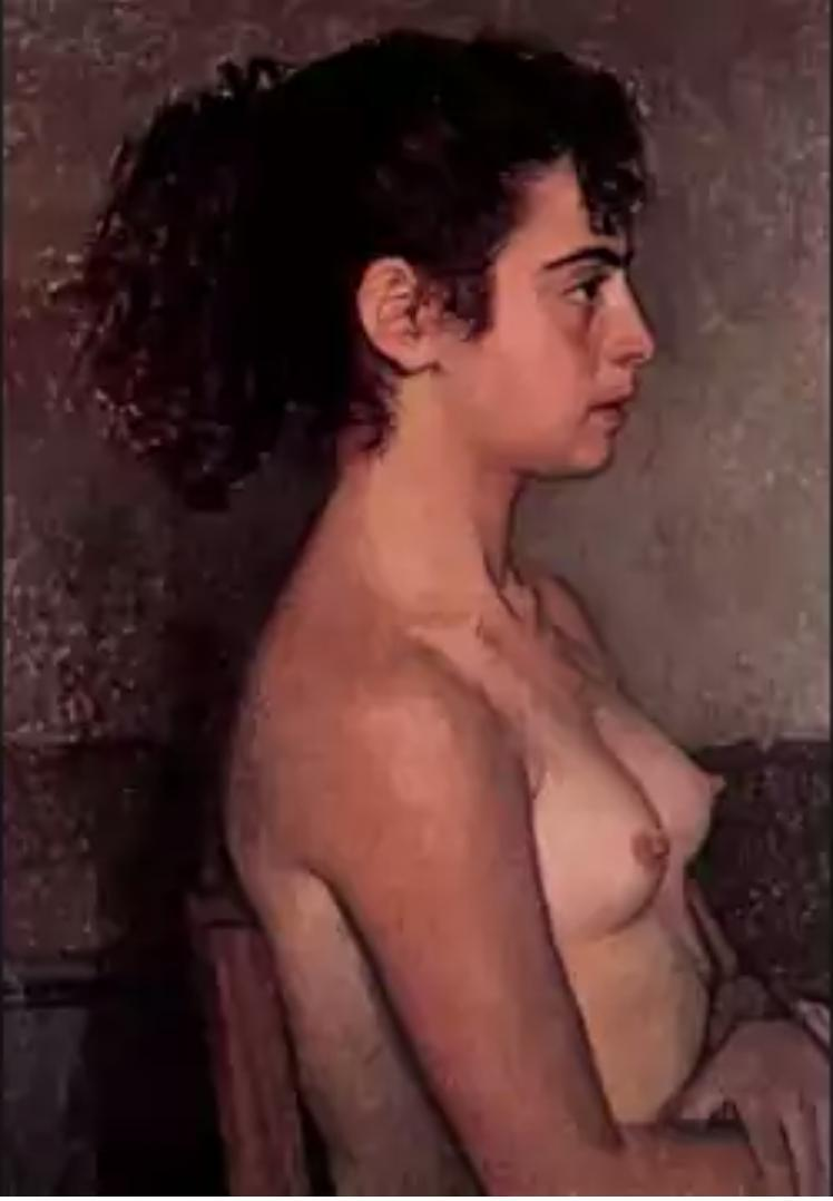 Portrait of a Girl - Nikolay Bogdanov-Belsky