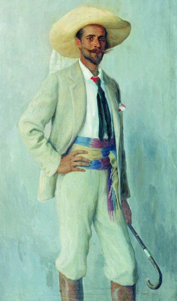 Portrait of A.Gorchakov - Nikolay Bogdanov-Belsky