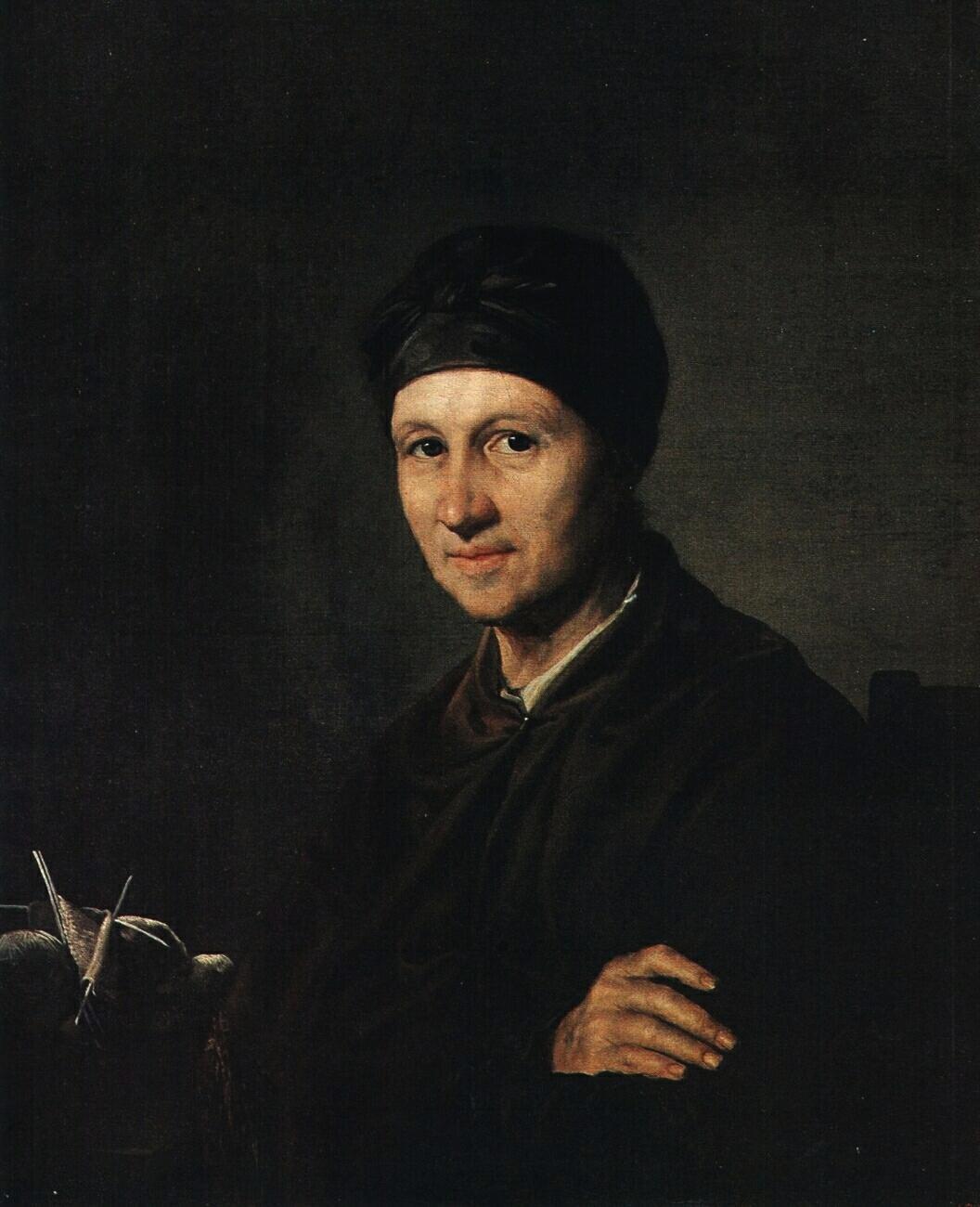 Portrait of A. I. Tropinina - Vasily Tropinin