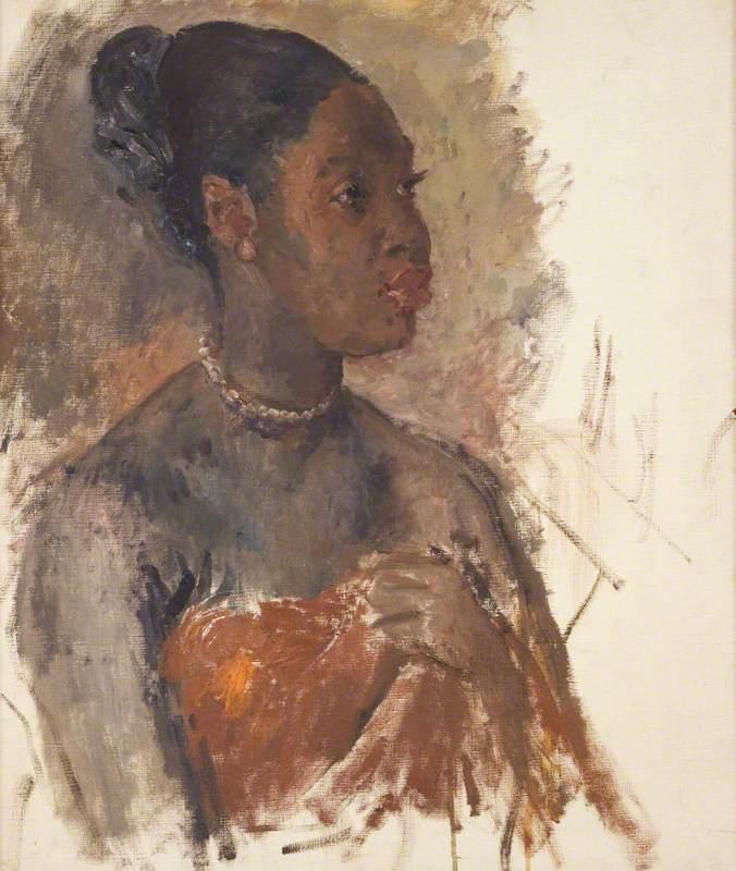 Portrait of a Jamaican Woman - Augustus John