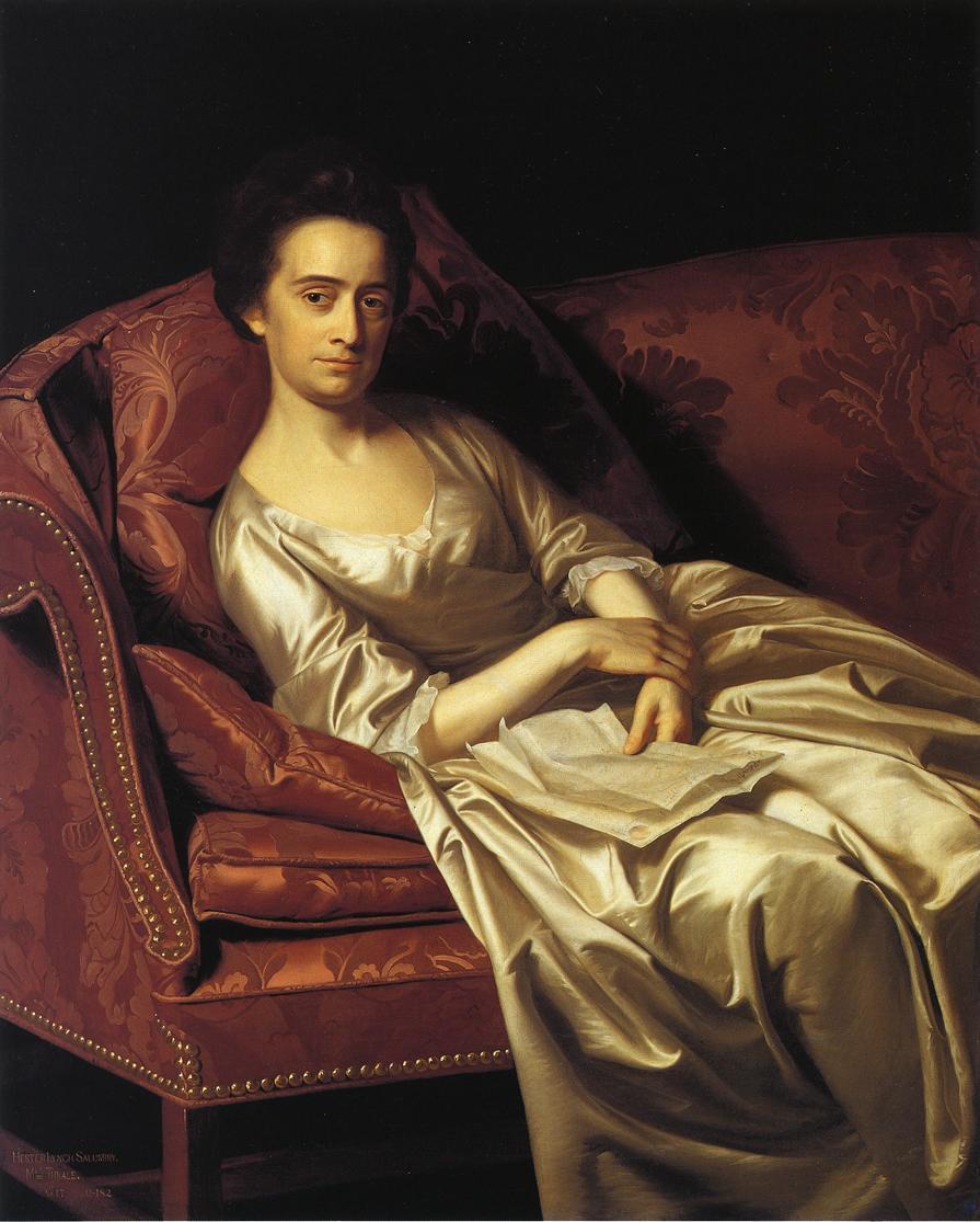 Portrait of a Lady - John Singleton Copley