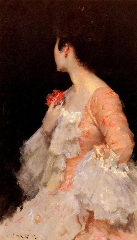 Portrait of a Lady - Nikolay Bogdanov-Belsky