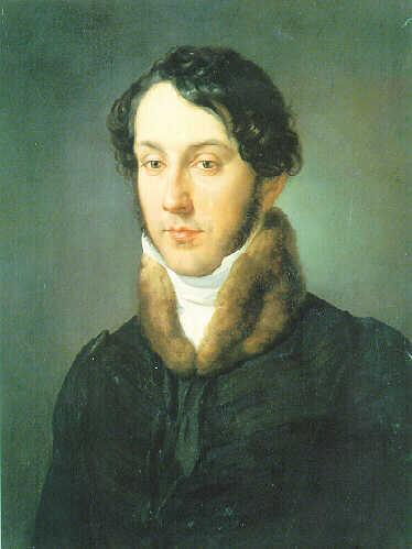 Portrait of a man - Francesco Hayez