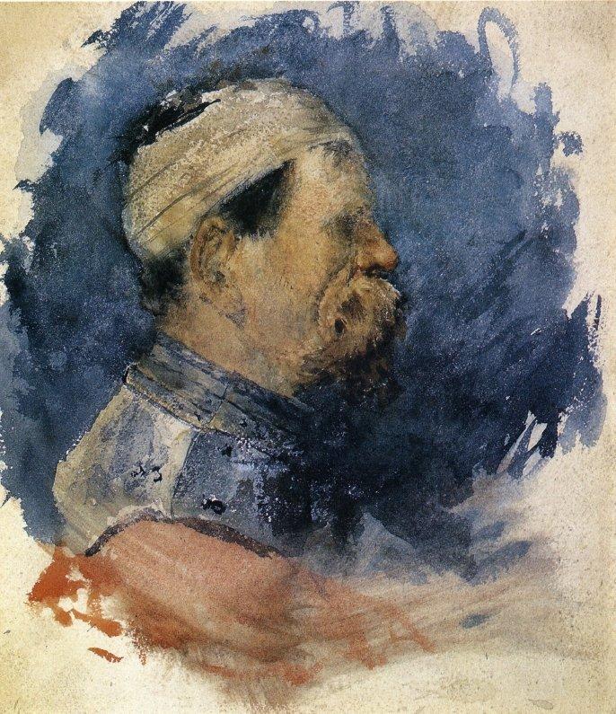 Portrait of a Man - William Merritt Chase