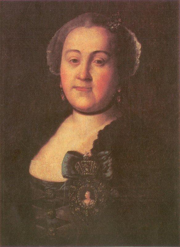 Portrait of a Mistress Agrippina Leontyevna Apraksina  - Aleksey Antropov