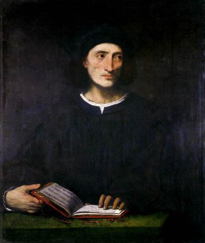 Portrait of a musician - Lorenzo Lotto
