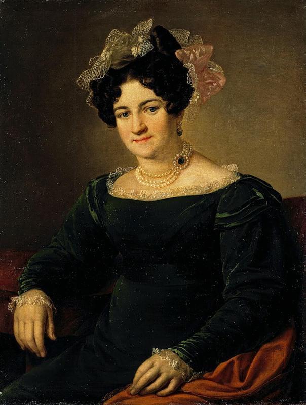 Portrait of a P.I. Sapozhnikova - Vasily Tropinin