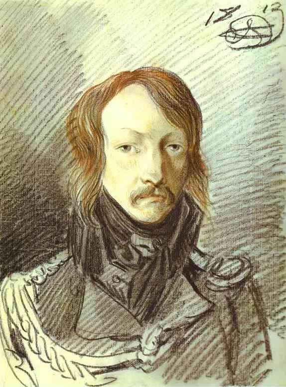 Portrait of A. P. Lanskoy - Alexander Orlowski