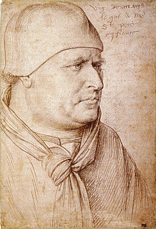 Portrait of a Papal Legate - Jean Fouquet