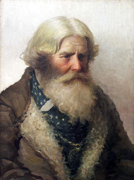 Portrait of a Peasant - Nikolay Bogdanov-Belsky