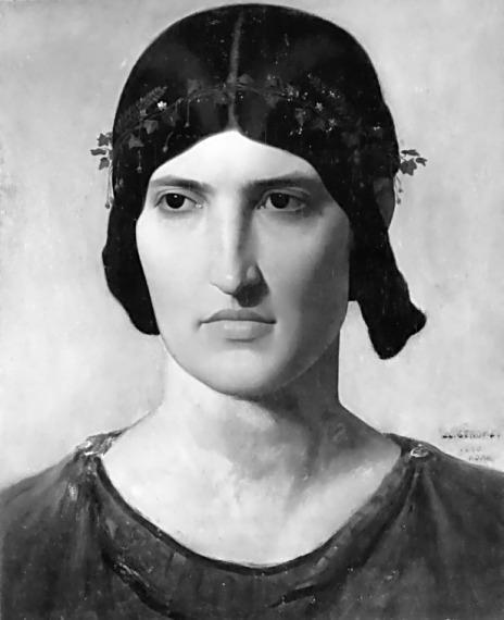 Portrait of a Roman Woman - Henryk Siemiradzki